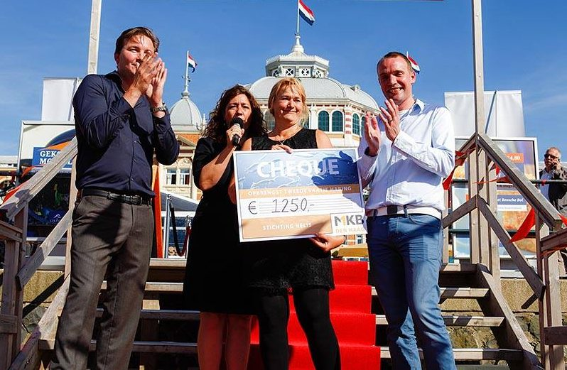 before this, Jeannette van Uffelen, MKB Den Haag, vicechairman, support small businesses, support, haringvaatje, verloting