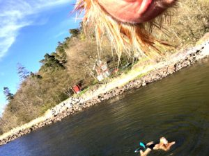 sea, seaswimming, winterswimming, icewoman, Norway #norway #jeloyradio