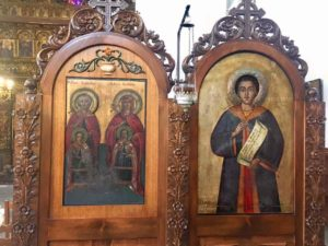 iconpainting, icon, little church, Anilio, Pilion, Northern Greece, Saint Athanasius Orthodox Church, Anilio, Magnisia