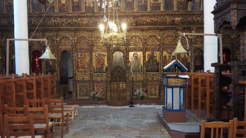 Saint Athanasius Orthodox Church, Anilio, Magnisia, icon painting, icon writing, icons