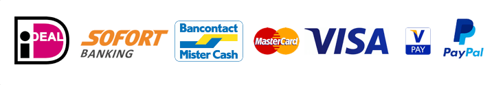 pay safe, mollie, ideal, visa, paypal, mastercard